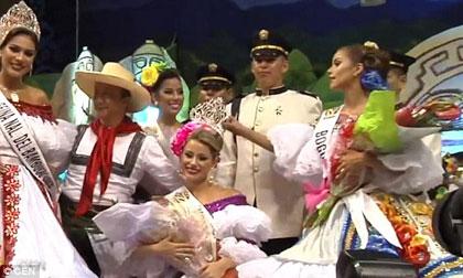 Hoa hậu Colombia, Hoa hậu Colombia bị cưa chân, Daniella Alvarez