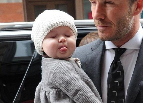 sao Hollywood,công chúa đáng yêu nhất nhà Becks,Harper Seven,sinh nhật 5 tuổi của Harper