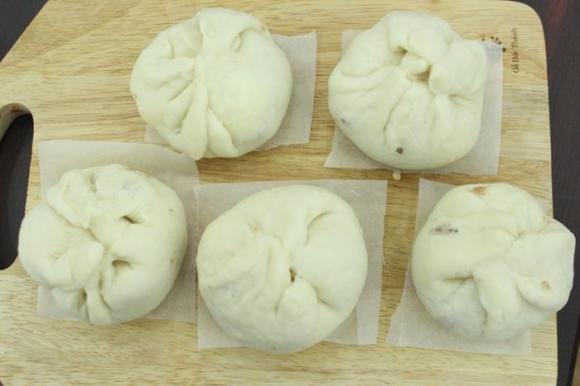 bánh bao, cách làm bánh bao, cách làm bánh bao bằng nồi cơm điện, cách làm bánh, món ăn, món ăn ngày hè, cách nấu ăn