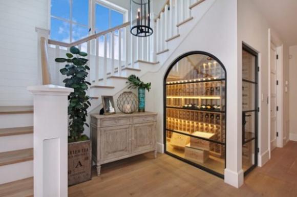ytuonghamruu 1 ngoisao.vn Chia sẻ ý tưởng tạo hầm rượu đẹp mắt trong nhà