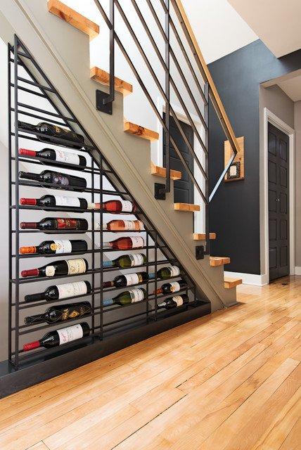 ytuonghamruu 11 ngoisao.vn Chia sẻ ý tưởng tạo hầm rượu đẹp mắt trong nhà