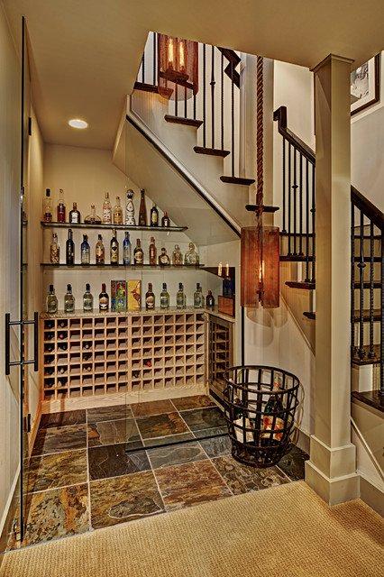 ytuonghamruu 12 ngoisao.vn Chia sẻ ý tưởng tạo hầm rượu đẹp mắt trong nhà