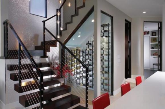 ytuonghamruu 13 ngoisao.vn Chia sẻ ý tưởng tạo hầm rượu đẹp mắt trong nhà