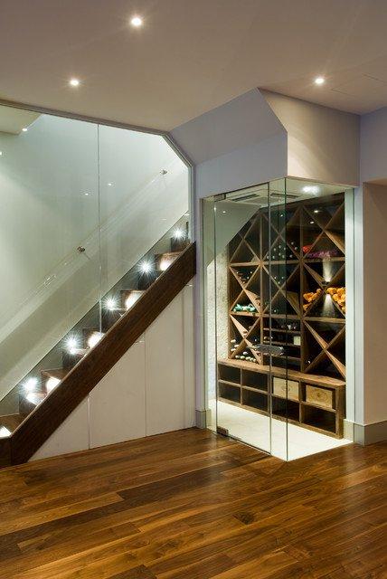 ytuonghamruu 14 ngoisao.vn Chia sẻ ý tưởng tạo hầm rượu đẹp mắt trong nhà