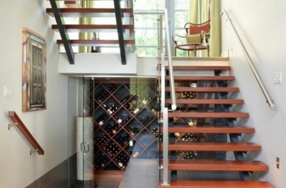 ytuonghamruu 3 ngoisao.vn Chia sẻ ý tưởng tạo hầm rượu đẹp mắt trong nhà