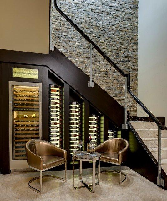 ytuonghamruu 6 ngoisao.vn Chia sẻ ý tưởng tạo hầm rượu đẹp mắt trong nhà