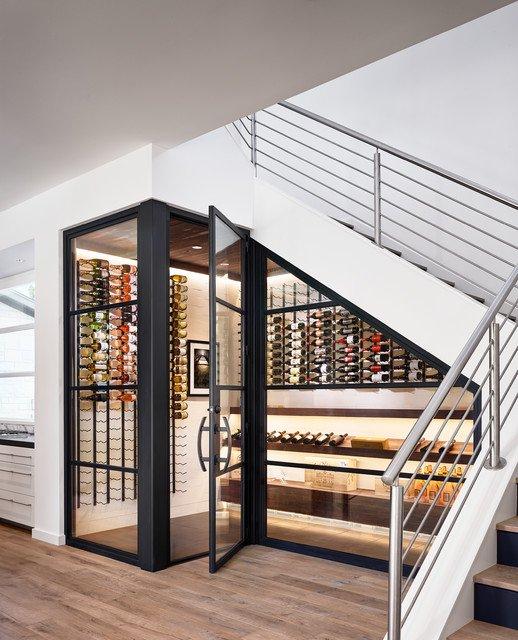 ytuonghamruu 7 ngoisao.vn Chia sẻ ý tưởng tạo hầm rượu đẹp mắt trong nhà