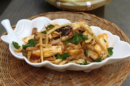 đậu phụ, món ngon từ đậu phụ, vợ Lý Hải, vợ Lý Hải dạy nấu ăn, cách chế biến đậu phụ, cách nấu ăn
