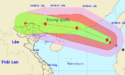 áp thấp nhiệt đới, bão số 2,  Quảng Ninh, Hải Phòng