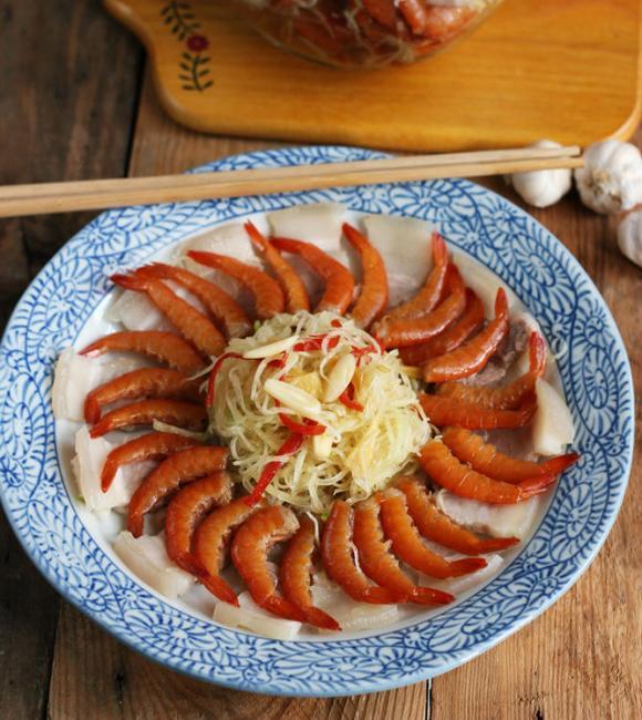 tôm chua, cách làm tôm chua, hướng dẫn làm tôm chua, các món ngon từ tôm, cách nấu ăn