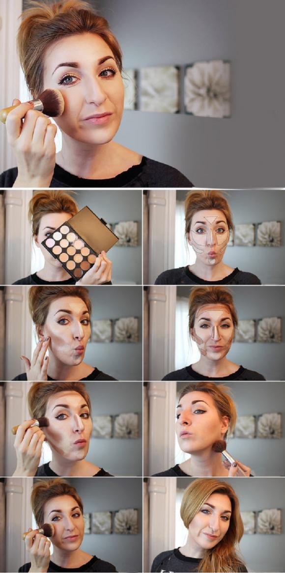 make up, mẹo trang điểm, thủ thuật make up,