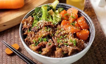 cách nấu ăn, dạy nấu ăn, bò cuốn rau củ, cách làm món bò cuốn rau củ, các món ngon từ thịt bò