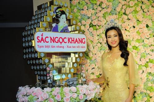 Sắc Ngọc Khang, Hoa hậu Mỹ Linh, Đại sứ thương hiệu Sắc Ngọc Khang