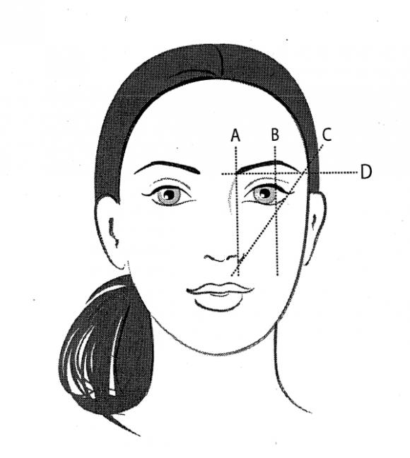 Học cách tạo dáng lông mày phù hợp với từng kiểu khuôn mặt 2