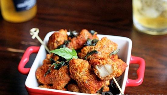 cách nấu ăn, dạy nấu ăn, món ngon từ gà, gà chiên húng quế, cách làm món gà chiên húng quế