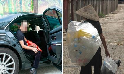 bà cụ nhặt rác, ứng xử nơi công sở, bài học cuộc sống, tâm sự, tâm sự gia đình