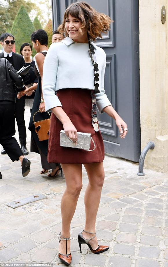 Kim tại Tuần lễ thời trang Paris 2016 1