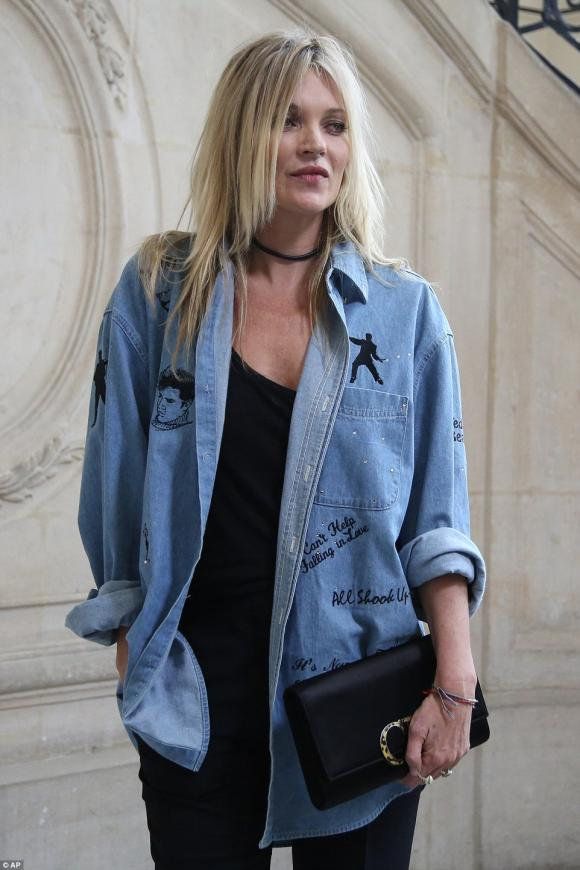 Kim tại Tuần lễ thời trang Paris 2016 4