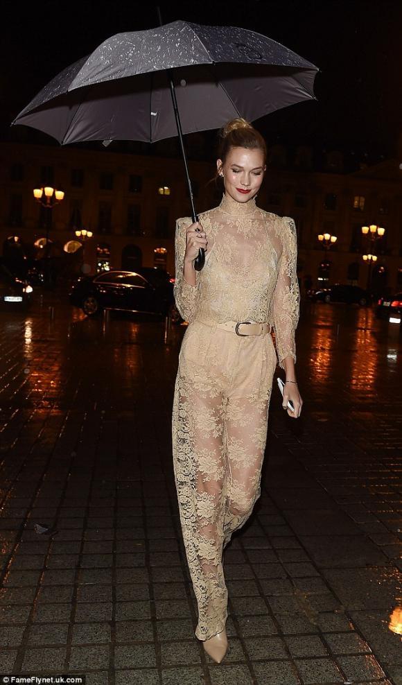 Kim tại Tuần lễ thời trang Paris 2016 5