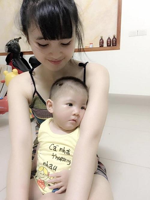 Cảnh sống đổi thay sau 3 tháng của mẹ tiểu thư 9x nhận nuôi bé gái Lào Cai 3,5kg