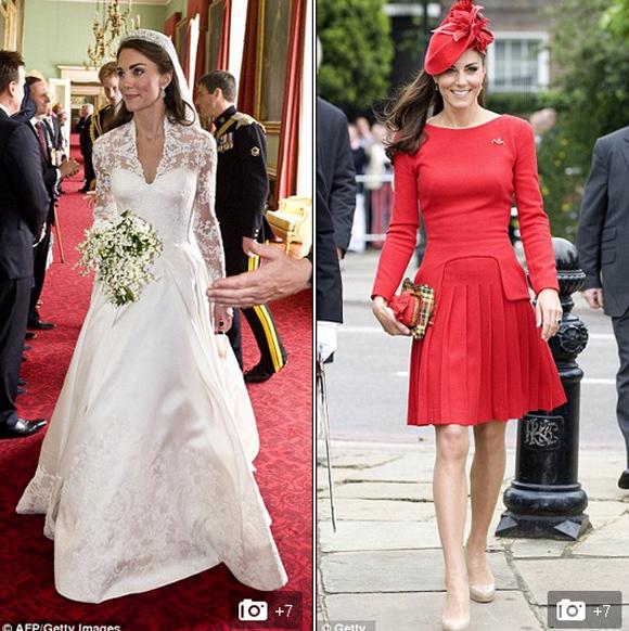 Công nương Anh diện váy hàng hiệu 1