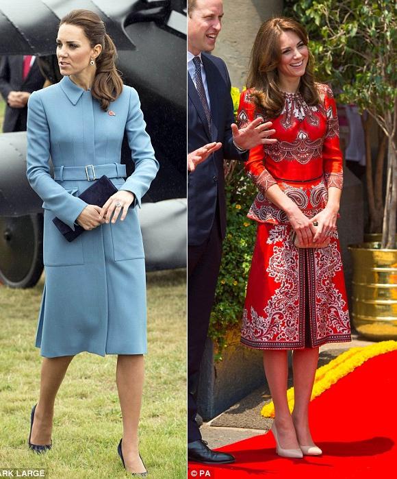 Công nương Anh diện váy hàng hiệu 3