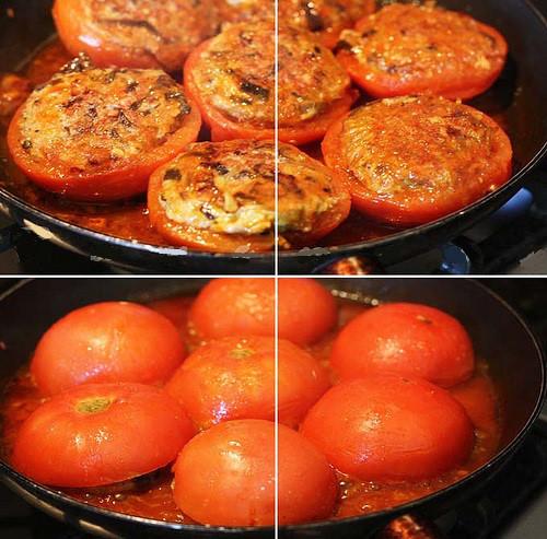 cà chua nhồi thịt, Cách làm cà chua nhồi thịt, Món ăn ngon