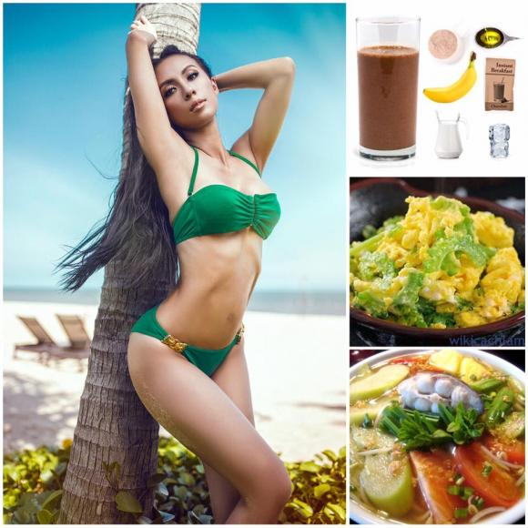sao việt, huyền ny, chế độ ăn cho người muốn tăng cân, cách ăn đúng cách, ăn gì để giảm cân, giảm cân, tăng cân