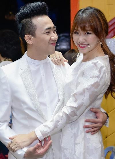 Trấn Thành và Hari Won đặt may áo cưới?