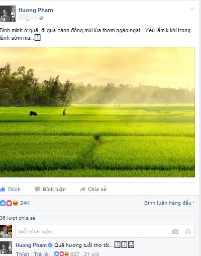 Hoa hậu Phạm Hương sống ảo 2