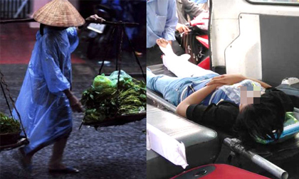 Gánh rau đi bán thấy bồ chồng bị tai nạn giữa đường, vợ gọi taxi đưa đi viện cấp cứu và rồi được trả ơn thế này
