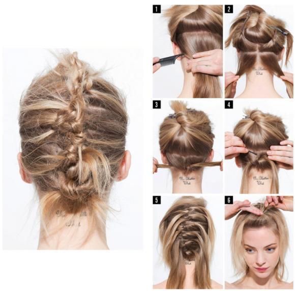 tóc đẹp, tạo kiểu tóc, tự tạo kiểu tóc,
