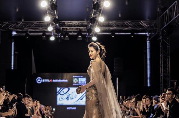 sao việt, hoa hậu việt, á hậu, huyền my, á hậu huyền my, huyền my Malaysia International Fashion Week, Malaysia International Fashion Week