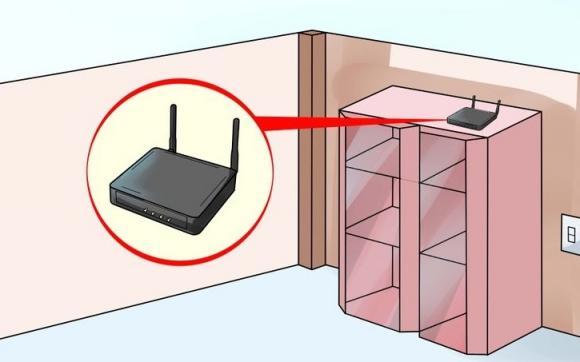 Mẹo đặt bộ phát Wifi  0