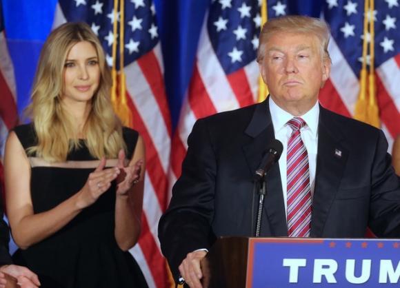 Donald Trump, con gái Donald Trump, Ivanka Trump, tổng thống Donald Trump
