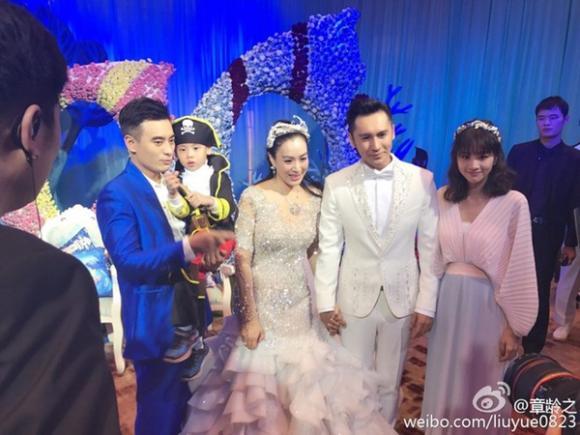 sao Hoa ngữ,sao nữ gốc Việt,Chung Lệ Đề,sao nữ gốc Việt có bầu,đám cưới sao nữ gốc Việt,Trương Luân Thạc