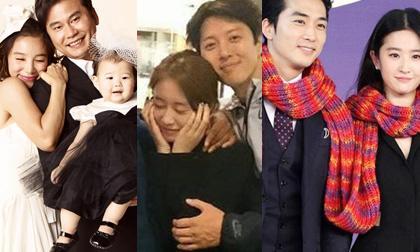 diễn viên Kwon Sang Woo,vợ chồng kwon sang woo,vợ chồng Kwon Sang Woo và Son Tae Young,vợ chồng Lee Byung Hun,Diễn viên Kim Soo Hyun, sao hàn