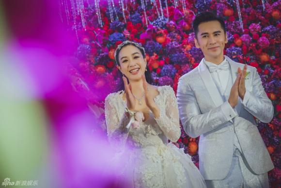 sao nữ gốc Việt,Chung Lệ Đề,đám cưới sao nữ gốc Việt,Trương Luân Thạc