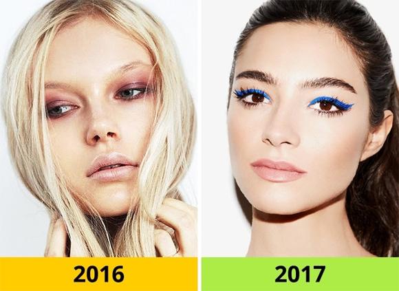 xu hướng làm đẹp, xu hướng làm đẹp 2017, kiểu làm đẹp năm 2017