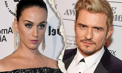 Orlando Bloom,Katy Perry,nam diễn viên Orlando Bloom,nữ ca sĩ Katy Perry, sao Hollywood