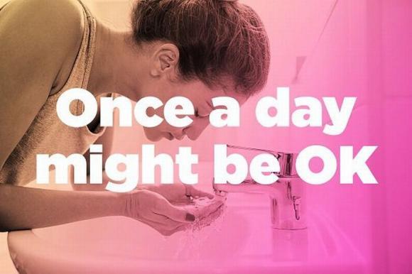 rửa mặt, sai lầm khi rửa mặt, làn da