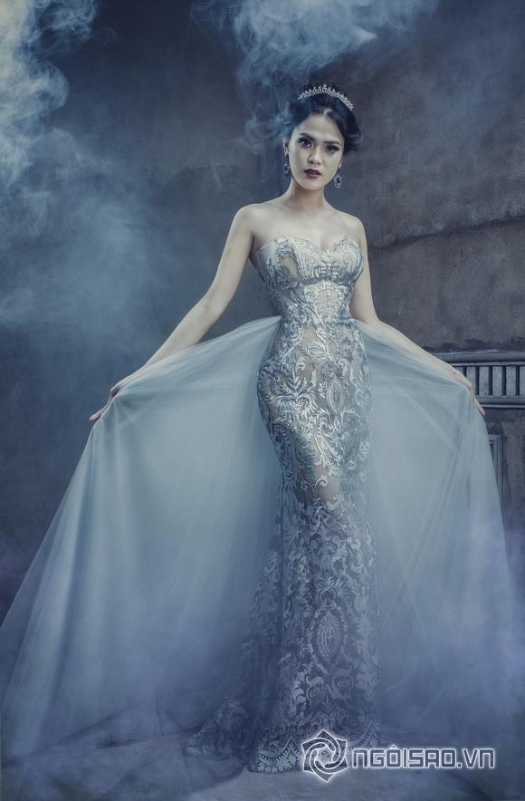 Bảo Thi hóa nữ thần đẹp ma mị dưới bàn tay tài hoa của Dolly Nguyễn