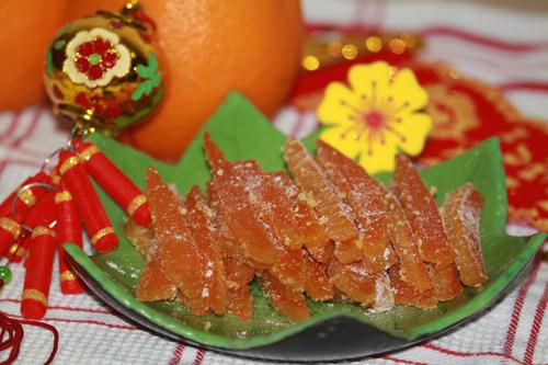 mứt vỏ cam, cách làm mứt vỏ cam, làm mứt vỏ cam tại nhà, cách làm mứt từ vỏ cam