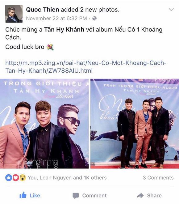 """Ca khúc """"Nếu có một khoảng cách"""" của Tân Hy Khánh đạt mốc 1 triệu view"""