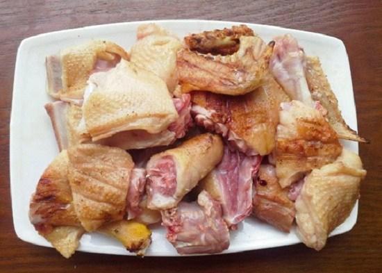 vịt giả cầy, món vịt, món ăn cuối tuần, món vịt