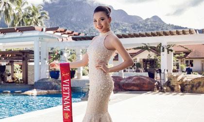 Hoàng Thu Thảo Lọt Top 10 Hoa hậu Du lịch quốc tế 2016