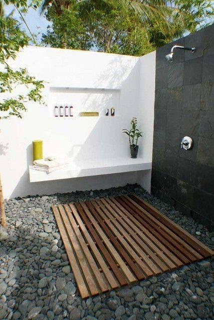 Những mẫu phòng tắm đẹp và gần gũi với thiên nhiên