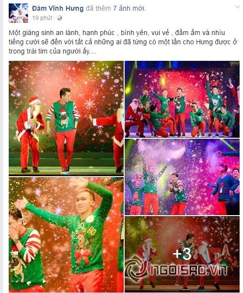 Giáng sinh 2016, sao Việt, sao Việt chúc mừng Giáng sinh