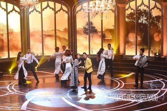 Nhật Thủy trên sân khấu Giai điệu tự hào 5