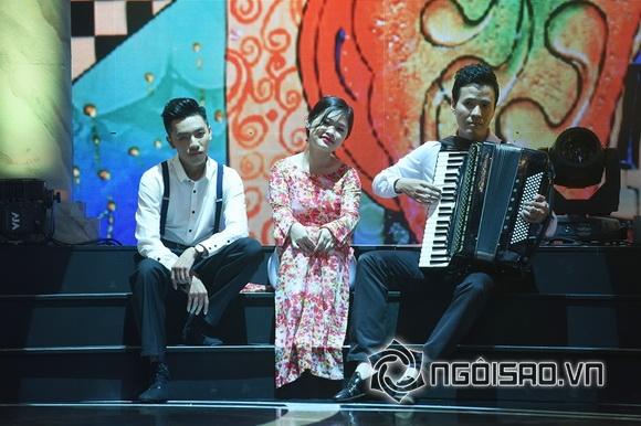Nhật Thủy trên sân khấu Giai điệu tự hào 3